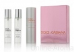 "Dolce & Gabbana ""Rose The One"" Twist & Spray 3х20ml women"